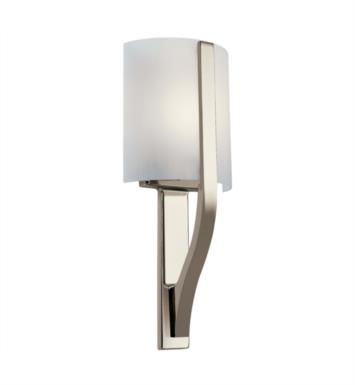 "Kichler 10686PN Freeport 1 Light 7"" Compact Fluorescent Wall Sconce in Polished Nickel"