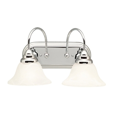 Kichler 5992CH Telford Collection Bath 2 Light in Chrome