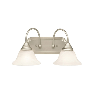 Kichler 5992NI Telford Collection Bath 2 Light in Brushed Nickel