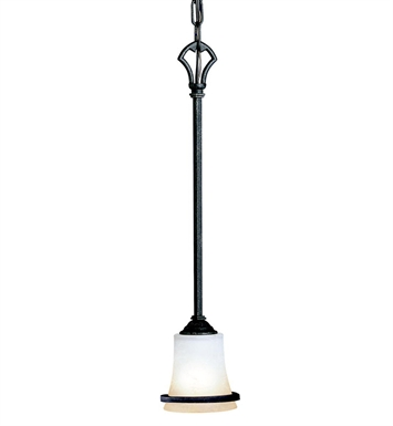 Kichler 3434DBK Mini Pendant 1 Light in Distressed Black