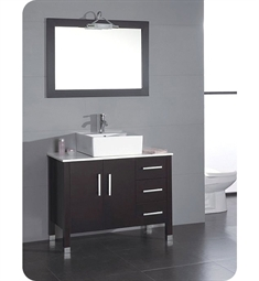 Cambridge Plumbing 40 inch Bathroom Vanity Set