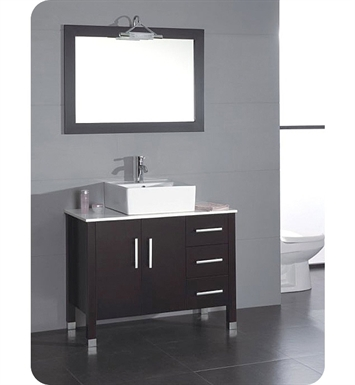 Cambridge Plumbing 8118 40 inch Bathroom Vanity Set