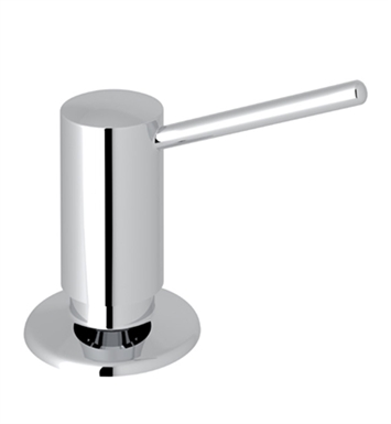 "Rohl LS450LPN De Lux II 3"" Deck Mounted Soap/Lotion Dispenser With Finish: Polished Nickel"