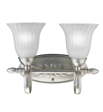 Kichler 5927NI Willowmore Collection Bath 2 Light in Brushed Nickel