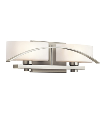 Kichler 45316NI Suspension Collection Bath 2 Light in Brushed Nickel