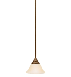 Kichler Telford Collection Mini Pendant 1 Light Fluorescent in Olde Bronze