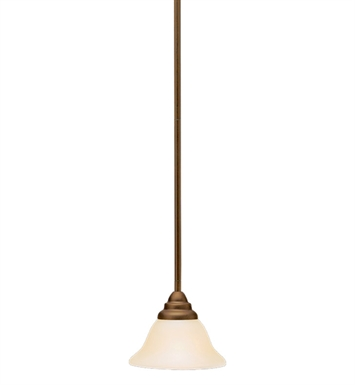 Kichler 10707OZ Telford Collection Mini Pendant 1 Light Fluorescent in Olde Bronze