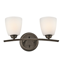 Kichler Granby Collection Bath 2 Light in Olde Bronze
