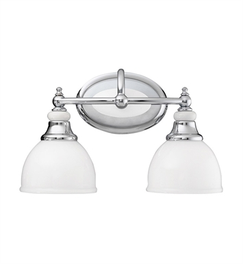 Kichler 5368CH Pocelona Collection Bath 2 Light in Chrome