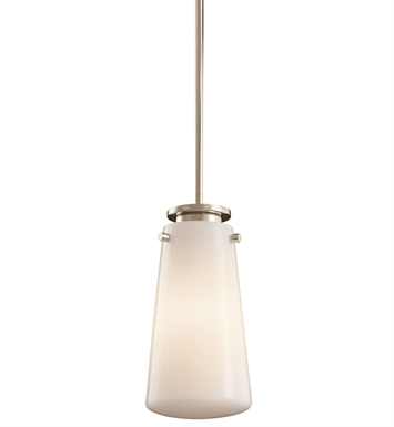 Kichler 42166PN Mini Pendant 1 Light in Polished Nickel