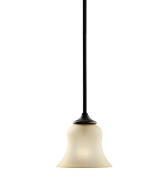Kichler Wedgeport Collection Mini Pendant 1 Light Fluorescent in Olde Bronze