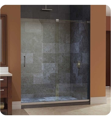 "DreamLine SHDR-1960722-01 Mirage Sliding Shower Door With Finish: Chrome And Dimensions: W 56 to 60"" x H 72"" 