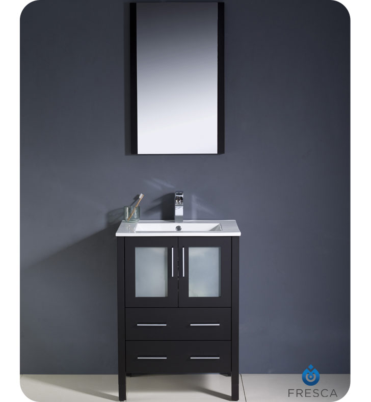 Integrated Bathroom Sink : ... Fresca Torino 24