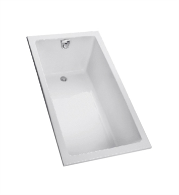 TOTO FBY1550P#01 Enameled Cast Iron Bathtub With Finish: Cotton