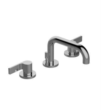 "Graff G-6710-LM46B-PN Terra 6"" Double Handle Widespread Bathroom Sink Faucet With Finish: Polished Nickel And Handles: LM46B Handles"