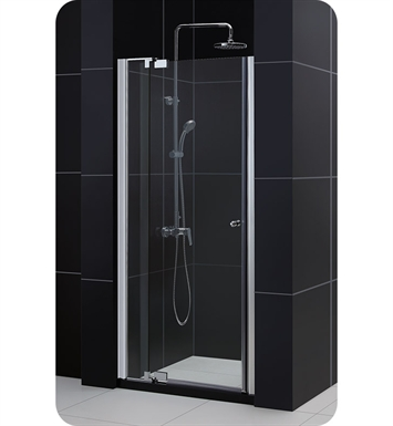 "DreamLine SHDR-4236728-01 Allure Shower Door With Dimensions: W 36"" to 43"" x H 73"" And Finish: Chrome"