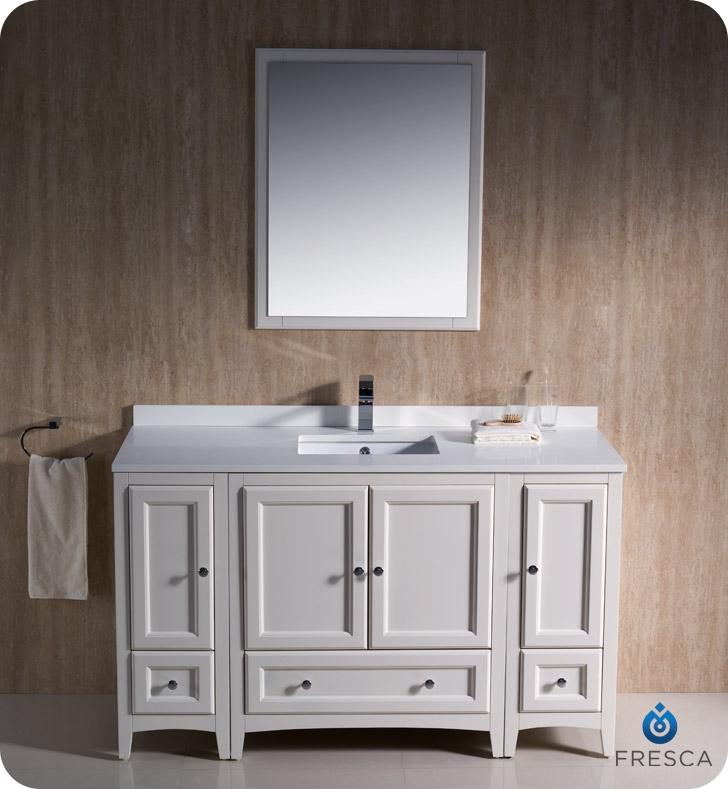 Fresca Fvn20 123012aw Oxford 54 Quot Traditional Bathroom