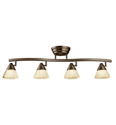 Kichler Fixed Rail 4 Light LED in Olde Bronze