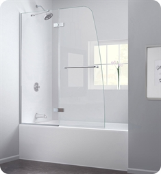 DreamLine SHDR-3448580 Aqua Ultra Clear Glass Tub Door