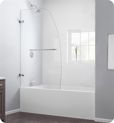 DreamLine Aqua Uno Tub Door Clear Glass