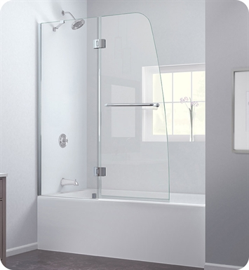 DreamLine SHDR-3148586 Aqua Tub Door Clear Glass
