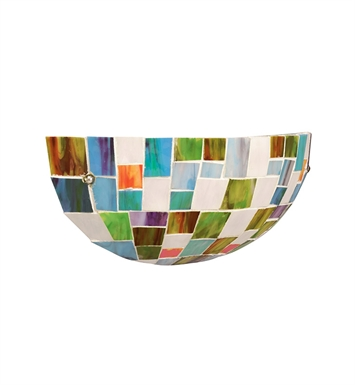 Kichler Confetti Collection Wall Sconce 1 Light Fluorescent
