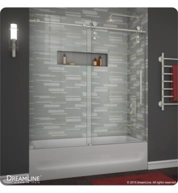 DreamLine SHDR-6260620 Enigma-Z 56 to 59 in. Frameless Sliding Tub Door
