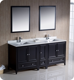 Beautiful Double Sink Bathroom Vanities Fresca Oxford 72 M To Inspiration