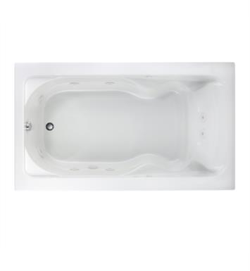 American Standard 2774018W.020 Cadet 72 Inch by 42 Inch EverClean Whirlpool in White With Finish: White