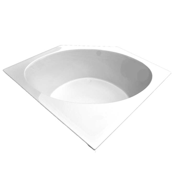 "American Acrylic BR-29A 60""x60"" Corner Bathtub With Jet Mode: Air (16 jets)"