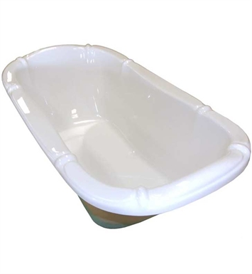 "American Acrylic BR-17C 39""x69"" Bathtub With Jet Mode: Combo (Whirlpool & Air Jets)"