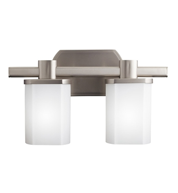 Kichler 5052NI Bath 2 Light in Brushed Nickel