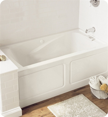 "American Standard Evolution 5' X 32"" Deep Soak EverClean Air Bathtub With Apron"