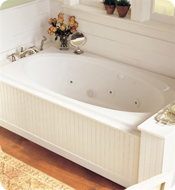 "American Standard 2645VC Evolution 5-1/2' X 36"" Oval EverClean Clean Jets Whirlpool Bathtub"