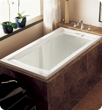 "American Standard 7236V.068C Evolution 6' X 36"" Deep Soak EverClean Air Bathtub"