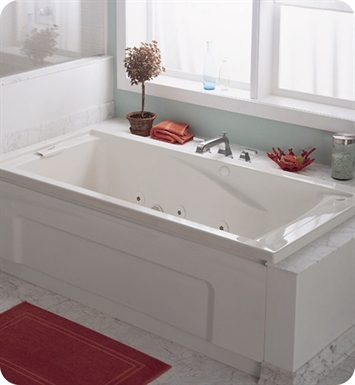 "American Standard 7236VC Evolution 6' X 36"" Deep Soak EverClean Whirlpool Bathtub"