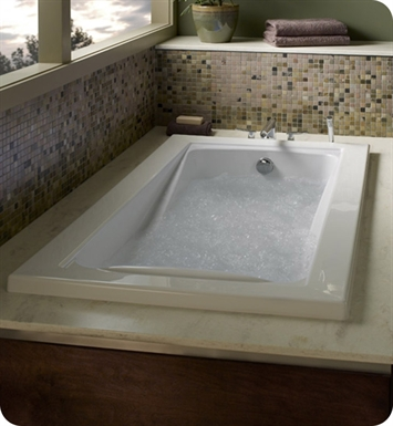 "American Standard 3574.018WC Green Tea 5' X 42"" EverClean Whirlpool Bathtub"