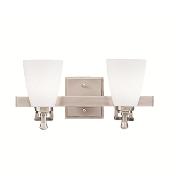 Kichler 5402NI Uptown Collection Bath 2 Light in Brushed Nickel