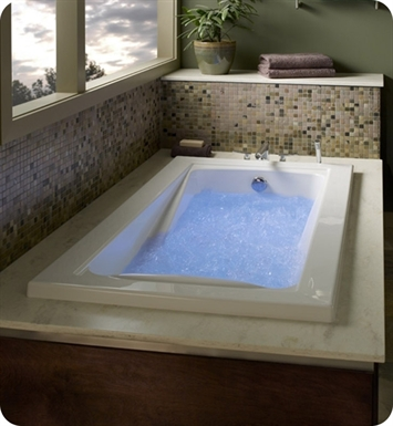 "American Standard 3572.048WC Green Tea 5 1/2' X 36"" EcoSilent Whirlpool Bathtub"