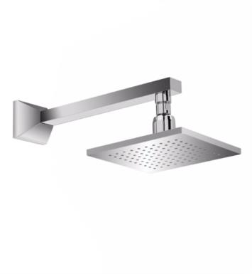 "TOTO TS930A1L#CP Lloyd 7 7/8"" 1.75 GPM Single-Function Square Showerhead with Showerarm in Polished Chrome"