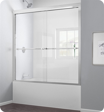 DreamLine SHDR-1260588 Duet Bypass Sliding Tub Door