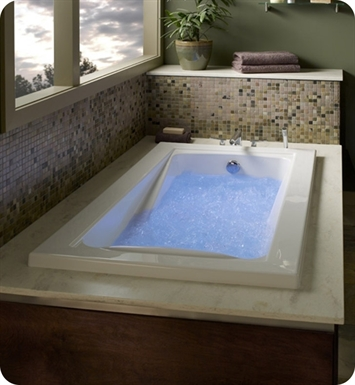"American Standard 3574.448WC.K2 Green Tea 5' X 42"" EcoSilent Combo Massage System Bathtub"