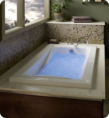 "American Standard 3573.448WC.K2 Green Tea 6' X 36"" EcoSilent Combo Massage System Bathtub"
