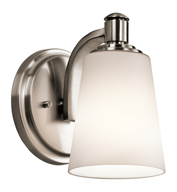 Kichler 45453CLP Wall Sconce 1 Light in Classic Pewter