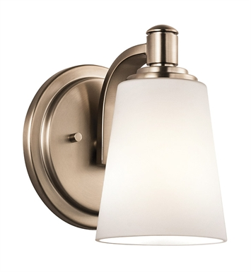 Kichler 45453CLZ Wall Sconce 1 Light in Classic Bronze