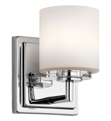 Kichler 45500CH OHara Collection Wall Sconce 1 Light Halogen in Chrome