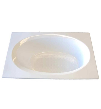 "American Acrylic BR-24C 36""x60"" Oval Bathtub With Jet Mode: Combo (Whirlpool & Air Jets)"