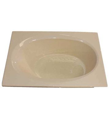 "American Acrylic BR-32A 42""x72"" Oval Bathtub With Jet Mode: Air (16 jets)"