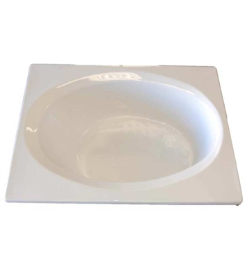 "American Acrylic BR-33A 42""x60"" Oval Bathtub With Jet Mode: Air (16 jets)"