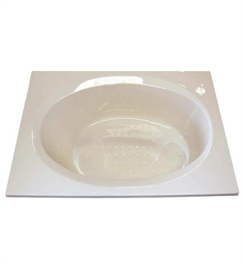 "American Acrylic BR-43C 36""x72"" Oval Bathtub With Jet Mode: Combo (Whirlpool & Air Jets)"